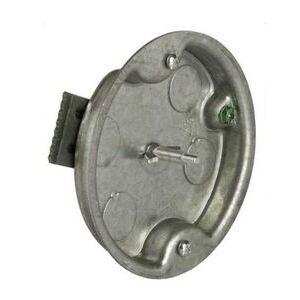"Hubbell-Raco 297 Round Ceiling Pan, 4"" Diameter, 1/2"" Depth"
