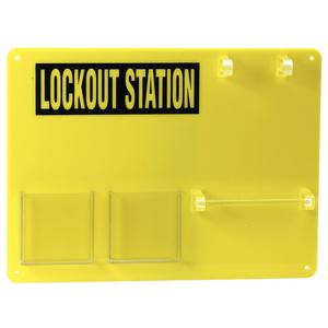 Brady 50989 5-lock Padlock Board