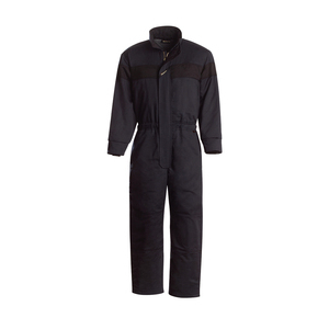 Workrite Uniform 590UT70NB/XL/R/GE-LOGO UltraSoft Insulated Coverall, Navy Blue, XL, Regular, GE Logo