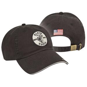 Klein 96875 BLACK KLEIN CAP WITH *** Discontinued ***