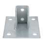 AP232SQEG STEEL SQUARE POST BASE