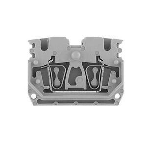 Allen-Bradley 1492-L3P Terminal Block, 20A, 600V AC/DC, Plug-in Component, Gray, 2.5mm