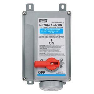 Hubbell-Wiring Kellems HBL5100MI9W PS, IEC, MECHINT, 4P5W,100A 120/208V,W/T