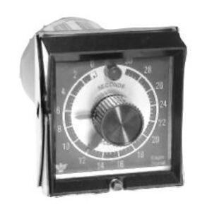 Eagle Signal Controls HP51A6 Timing Relay, Preset/Reset, 10A, 0 - 60Sec, 120VAC Coil
