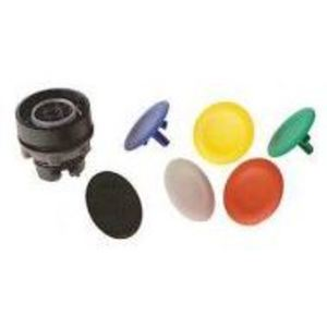 Square D ZB5AA9 Push Button, Flush, Multi-6 Color, 22.5mm, Operator Only, Plastic