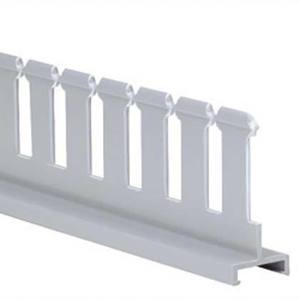 "Panduit SD2H6 Slotted Duct Divider Wall, PVC, 2""H X 6'"