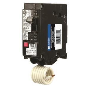 ABB THQL1115DF Breaker, 15A, 1P, 120VAC, 10kAIC, AFCI/GFCI, Dual Function, Plug-On