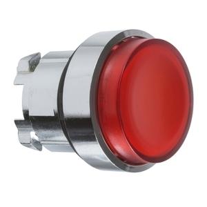 ZB4BW143 RED EXTENDED ILLUM P/B LED