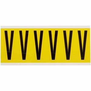3450-V 34 SERIES NUMBER & LETTER CARD