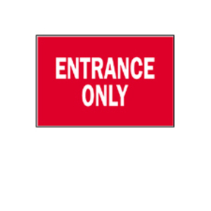 Brady 41050 DIRECTIONAL & EXIT SIGN