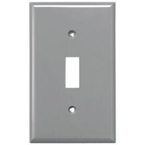 Eaton Arrow Hart 5134GY-BOX WALLPLATE 1G TOGGLE