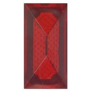 Leviton 406-R Pilot Light Jewel, Round, Fits Single Receptacle Hole, Red