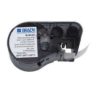 Brady M-48-427 Self-Laminating Vinyl Wire and Cable Label