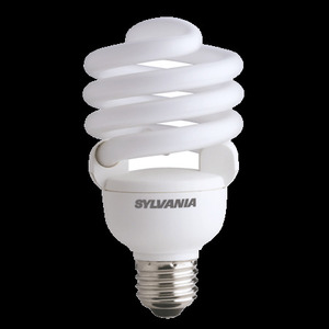 SYLVANIA CF30EL/TWIST/830 Compact Fluorescent Lamp, Twister, 30W, 3000K