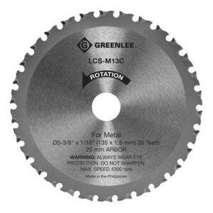"Greenlee LCS-M13C 5-3/8"" Circular Saw Blade *** Discontinued ***"