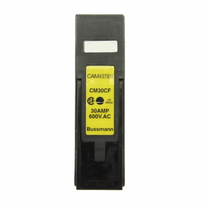 Eaton/Bussmann Series CM30CF Fuse Holder, Camaster, 30A, 600VAC, HRCII Applications