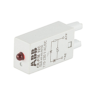 ABB 1SVR405655R0100 PLUGGABLE MODULE CR-P/M 92C