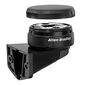 Allen-Bradley 855E-BVMC Stack Light Mounting Base, 50 mm, Vertical Mount, Black, Cap Included