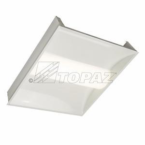 Topaz F-VTC22/30/840/D-86 72742 LED VOLUMETRIC TROFFER 2X2 4000K 30W 3800 LUMENS