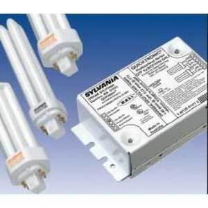 SYLVANIA QTP-2X42CF/UNV-DALI Dimming Ballast, Compact Fluorescent, 2-Lamp, 42W, 120-277V *** Discontinued ***