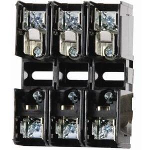 Littelfuse L60030C-3PQDIN 30A, 3P, 600V, Class CC DIN Releasable Fuse Block