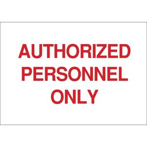 22208 SECURITY SIGN