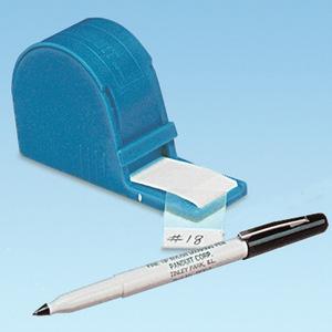 "Panduit S100X125VARY Self-Lam dispenser w/pen, Vinyl,  1.00"""