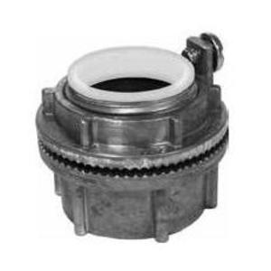 "Appleton HUBG150A Conduit Hub, Grounding Type, 1-1/2"", Insulated, Aluminum"