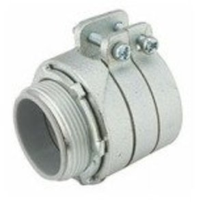 Hubbell-Raco 3312 AC/MC/Flex Connector, Insulated, Straight, Type: Squeeze, Size: 3""