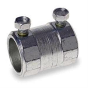 "Hubbell-Raco 2156 EMT Set Screw Coupling, Steel, 4"""