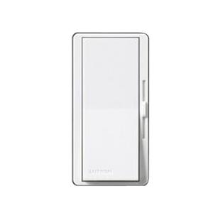 Lutron DVELV-303P-WH Decora Dimmer, 300W, Electronic, Diva, White
