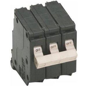 Eaton CH330 Breaker, 30A, 3P, 240V, 10 kAIC, Type CH