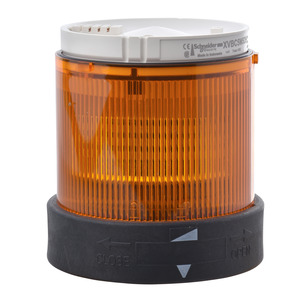 XVBC4B5  ORANGE FLASHING BEACON