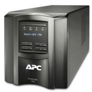 American Power Conversion SMT750C Uninterruptible Power Supply, 500W, 750VA, 120VAC, Tower, with Smart Connect