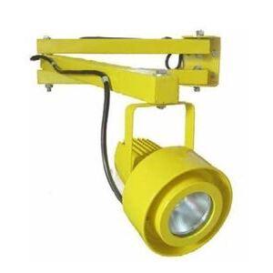 Nicor UDL102012050YL LED Dock Light, 20W, 120V, 5000K, Yellow, 15 Degree Angle