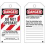 65452 TAG LOCKOUT DO NOT OPERATE (25/PK)