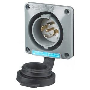 Hubbell-Wiring Kellems HBL2815SW LKG WT S/SHD