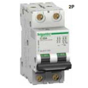 Square D M9F11203 Breaker, Miniature, 2P, 3A, C Curve, 240/415VAC, DIN Rail Mount