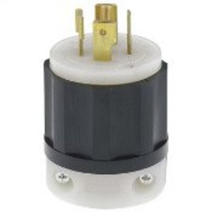 Leviton 2511 Locking Plug, 20A, 3PH Y 120/208V, 4P5W