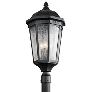 Kichler 9533BKT OUTDOOR POST MT 3LT