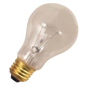 Halco 76018 Incandescent Bulb, Vibration Service, A19, 60W, 130V, Clear