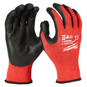 Milwaukee 48-22-8930 Cut Level 3 Nitrile Dipped Gloves - Small