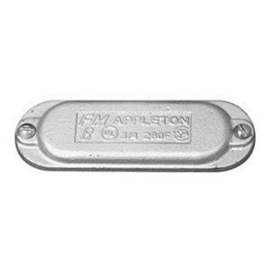 "Appleton 580F Conduit Body Cover, Wedge Type, Form 8, 1-1/2"", Iron"