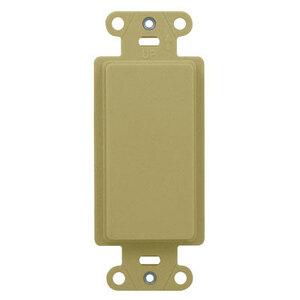 ON-Q WP3410-IV DECOR OUTLET STRAP BLANK IV (M10)