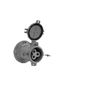 Appleton ADR20034 Pin & Sleeve Receptacle, 200A, 3W4P, Style 2