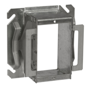 """Hubbell-Raco 786B 4"""" Square Cover, Type: Block-Loc, Tile Cover, 2"""" Depth, Steel"""