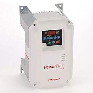 Allen-Bradley 22B-B8P0C104 Drive, PowerFlex 40, 240VAC, 1PH, 8.0A, 1.5KW, 2.0HP, NO Filter