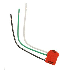 Leviton MSTWL-R Wiring Module for Lev-Lok, 2-Pole Right Angle, 20A, Red