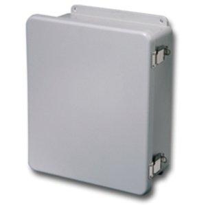 Eaton B-Line 14126-4XFCHQRC JIC Enclosure, NEMA 4X, Hinged Quick Release Cover, Fiberglass
