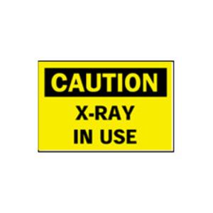 Brady 62950 BRA 62950 CAUTION X-RAY IN USE